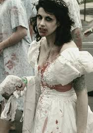 Bride Halloween Costume Robots