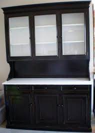 Small Kitchen Hutch Cabinets White Kitchen Hutch Cabinet Photo U2013 1 U2013 Kitchen Ideas