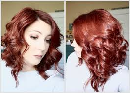 red brown long angled bobs how to curl an angled bob youtube