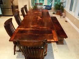 reclaimed wood tables broad street farm table innovative modern