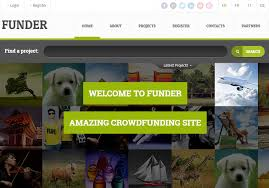 top 3 crowdfunding crowdsourcing website html5 templates