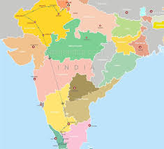 Agra India Map by Heritage Rajasthan Tour With South India