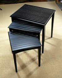 buy nest of tables 3 glass tables nesting tables pinterest glass tables tables