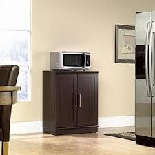 Electronics Storage Cabinet Sauder Home Plus Sienna Oak Storage Cabinet 411963 The Home Depot