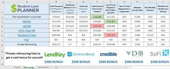 Cost Of Living Spreadsheet The Loan Calculator That Saves You And