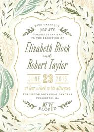 wedding reception invitation wording after ceremony amazing wedding reception invitation wording after