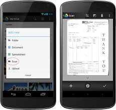 Scan Business Cards Android Google Drive Blog A Smoother Drive App For Android