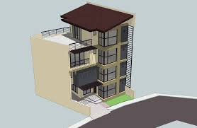 3 storey house plans 2011 3 storey house w roof deck by rjdalmacio on deviantart