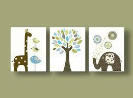 illustration chambre bébé lot de 3 illustrations pour chambre d enfant et bebe chambre deco