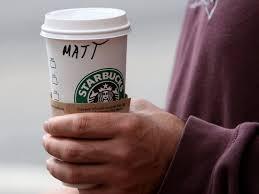 starbucks baristas will stop writing u0027race together u0027 on coffee