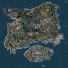 pubg erangel map vehicle spawn locations guide cars boats