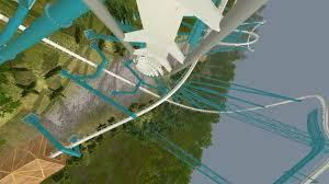 Busch Gardens Map Alpengeist Busch Gardens Williamsburg 1997 B U0026m Inverted