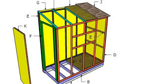 small shack plans 4x8 ice shack roof plans howtospecialist how to build step by