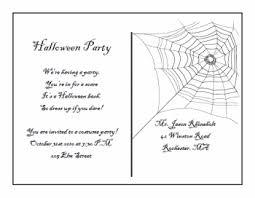 free printable halloween invitation templates printable