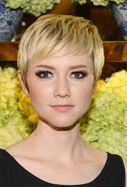 zoe mclellan haircut pixie cut styles weekly