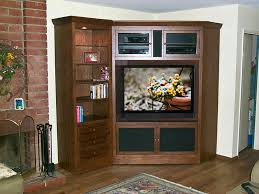 Tv Armoire With Doors And Drawers Corner Tv Armoire And Bookcase C 180 Oak Wood Designs For Flat