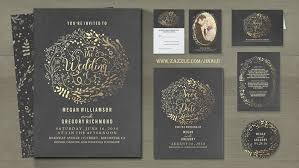 gold foil wedding invitations read more gold foil floral chalkboard wedding invites wedding