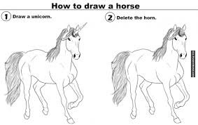 How To Meme - animal memes how to draw a horse 640x403 png 640 403 interesting