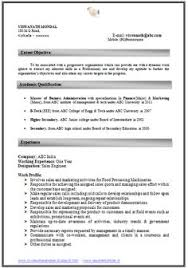Excellent Resumes Samples by Example Template Of Excellent Fresher B Tech Resume Sample