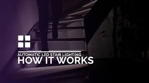 Stair Lighting I F Automatic Led Stair Lighting By Interactive Furniture How