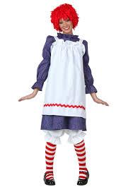 Sally Halloween Costume Size Raggedy Ann Costumes Raggedy Ann Halloween Costumes
