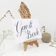 wedding guest book sign wedding guest book sign by made with designs ltd