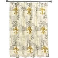 Fleur De Lis Curtains Fleur De Lis Curtains Get Quotations A Guild Shower Curtain Fleur