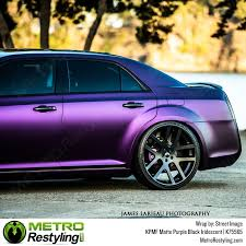 kpmf matte purple black iridescent vehicle wrap film
