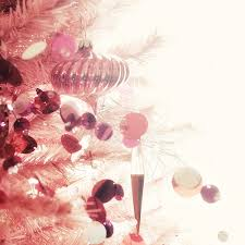 white tree pink decorating ideas decorated