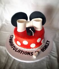 edible graduation caps edible fondant cake topper mickey minnie mouse graduation cap