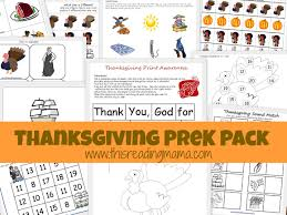 thanksgiving prek pack this reading preschool home