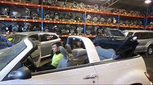 wrecking 2008 chrysler pt cruiser c16328 roof youtube