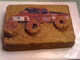 monster truck mud racing mud bog truck birthday cake cakecentral com