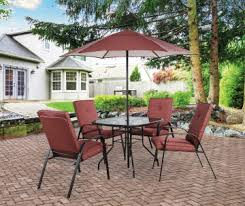 Red Patio Set by Patio Furniture Big Lots
