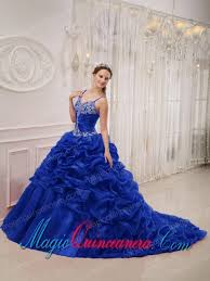 dresses for sweet 15 sweet 15 quinceanera dresses in royal blue with spaghetti straps