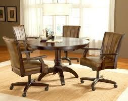 Chromcraft Furniture Kitchen Chair With Wheels Kitchen Chairs Wheels Thegoodcheer Co