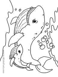 mommy and baby animals coloring pages