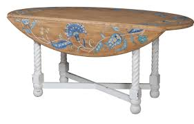 oval drop leaf table oval drop leaf table european tile art guildmaster