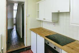 Galley Style Kitchen A Galley Kitchen Renovation On A Budget