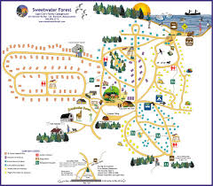 Massachusetts On The Map by The Camp Map A Bird U0027s Eye View Of Sweetwater Forest
