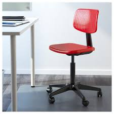 Swivel Office Chairs by Alrik Swivel Chair Red Ikea