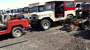 classic land cruiser old land cruiser junkyard youtube