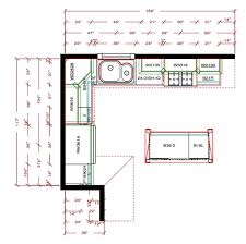 l shaped kitchen floor plans with island kitchen endearing l shaped kitchen floor plans with pretty style
