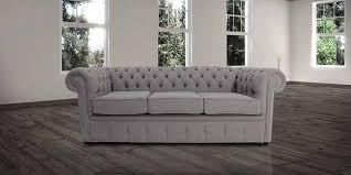 Grey Fabric Chesterfield Sofa by Designersofas4u Buy Steel Grey Chesterfield Sofa Uk