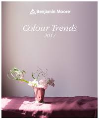 Benjamin Moore 2017 Colors by Press Release Colour Trends 2017
