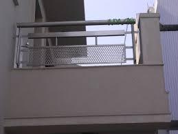 stainless steel parapet railings shriram grill