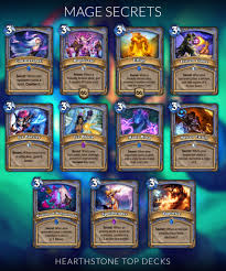 Cinetopia Happy Hour by 6 Mage Decks Hearthstone September 2017 Hearthstone Secret