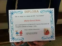 participamos en el concurso de ortografía intercentros