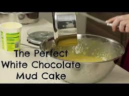 dense white chocolate mud cake recipe food fast recipes