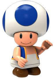 knex super mario toad 2 minifigure blue loose toywiz